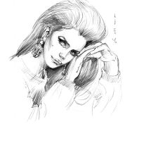 daily sketch 1394 by nosoart