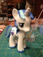 Custom Shining Armor: complete by IronBatMaiden91