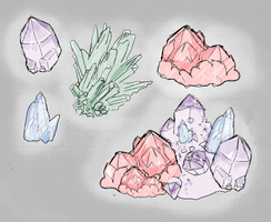 Crystals by izy-billie