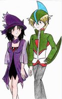 Cosplay: Gallade and Mismagius by Sephi-chan