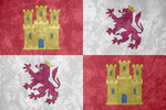 Crown of Castile ~ Grunge Flag (1230 - 1715) by Undevicesimus