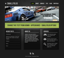 Smallfolio - Wordpress Theme by DarkStaLkeRR