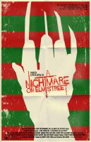 Nightmare on Elm Street poster by markwelser