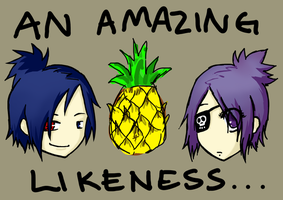 A Pineapple Likeness by Zynnx
