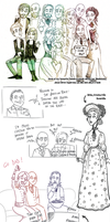 Sketchdump: Musicals by Starlene