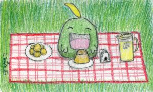 A Picnic with Gulpin by SirWongIII