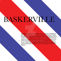 Five Classic Typefaces 2 Baskerville by LadyArtist