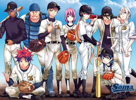 Shokugeki no Souma Baseball Jump Next. 2015 Poster by IRSTs