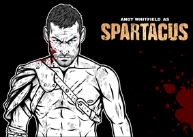Andy Whitfield Spartacus by Tikay77