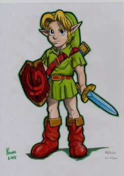 Young Link by stefano-roca