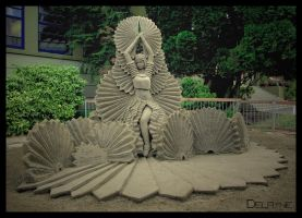 Fan Dancer by sculptin