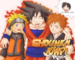 We are Shounen Jump by uzukun89