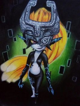 Midna by ColliEnaid