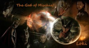 Loki - The God of Mischief by LuluDarling