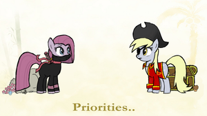 A Pony's Priorities by Muffinsforever
