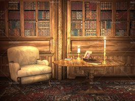 Library 3 by Trisste-stocks