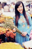 Beauty of Ao dai by juztin-le