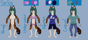 Anthro Fluffy Spring Clothes by AutumnMiracles