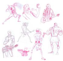 Rockers and Sagat by DannyMcGillick