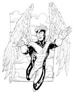 X-Men Angel SOTD by RobertAtkins