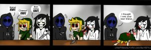 Best Friend Knife! by CreepyAdventures