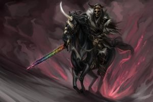 Captain Tool And The Last Unicorn by junalesca