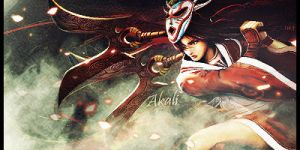 Akali by Silver-Noctis