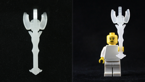 LEGO 3D Printed Dominion Rod by mingles