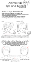 Anime Hair Tips and Tutorial by xXP0CKYXx
