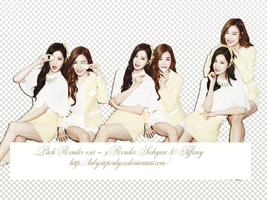 Pack Render #38 ~ 3 Renders Seohyun and Tiffany by BabySteponlys9