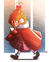 That brave Cindy Lou Who by Do0dlebugdebz