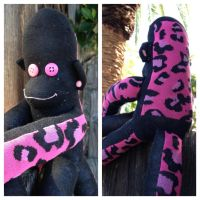 Claire the Sock Monkey by DianaArtimis