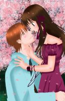 Fruits Basket_Tohru and Kyo by MimiSempai