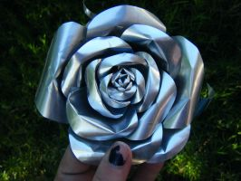 Recycled Red Bull Rose 2 by Christine-Eige
