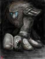 Shadow of the colossus by o0Syringes0o