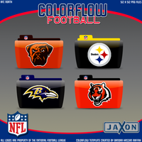 Colorflow Football Set 6 by JayJaxon