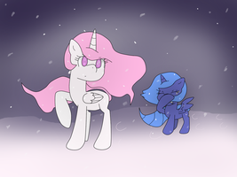 In the Snow by TamaTendo