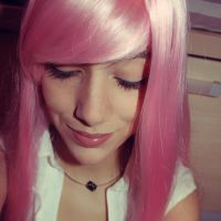Pink Hair by Hekady