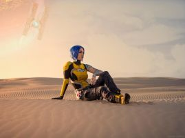 Maya the Siren - The Dust - Borderlands 2 by Lithium-Toxide