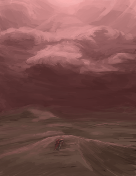 Cloudlandscape practice thing by bloodtrailkiller