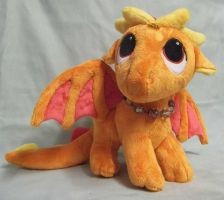 Custom PenDragon Timid The Orange Dragon by angelberries