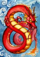 Chinese Dragon - Commision by Scooterek