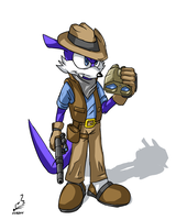 Nack 'Fang' the Weasel by prdarkfox