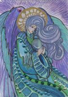 ACEO Angel 01 by rachaelm5