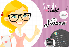 SmileTablet Doll .Psd by Naoomy