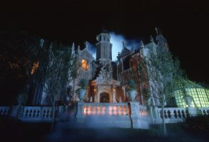 The Haunted Mansion by bloatenator