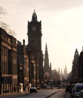 Edinburgh Princes Street by Graid