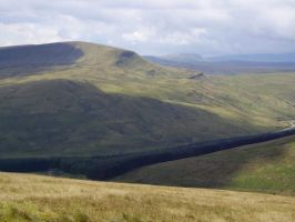 from Pen-y-fan, Brecon by okohll