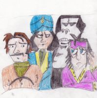 the boosh gang by rainbowxemo