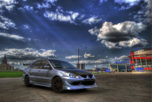 lancer hdr by Germanow17